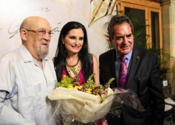 Realizan homenaje al académico don Felipe San José González