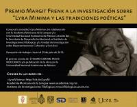 Premio Margit Frenk a la investigación sobre