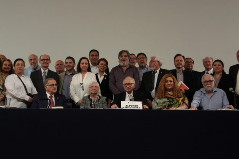 90 años de Alfonso Rangel Guerra: homenaje en Bellas Artes