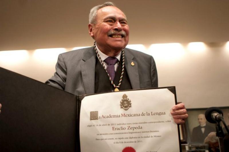 Un día como hoy Eraclio Zepeda ingresó a la Academia: bienvenida de Vicente Quirarte