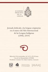 Jornada dedicada a las lenguas originarias