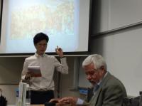 Conferencia de Adolfo Castañón en la Universidad Nanzan, Nagoya