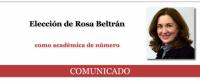 La Academia Mexicana de la Lengua eligió a la narradora Rosa Beltrán como miembro de número